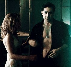 Colin Farrell and Imogen Poots in Fright Night (2011)