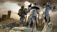 Source Filmmaker poster of clone troopers Rex, Wolffe and Gregor. Star Wars Clone Wars, Star Wars Rebels, Republic Commando, Star Wars Painting, Pokemon, Star Wars Images, Star Wars Fan Art, Fandom, Star Wars Poster