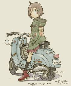 Character Concept, Character Art, Concept Art, Motorcycle Art, Bike Art, Illustration Sketches, Illustrations, Anime Comics, Graphic