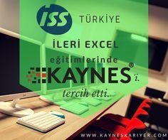 ISS Türkiye, İleri Excel Eğitimlerinde Kaynes'i tercih etti.