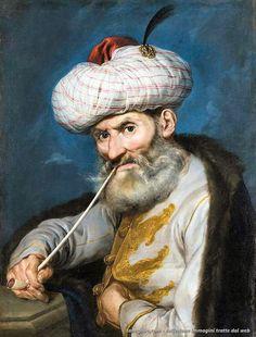 Giacomo Ceruti – Ritratto di un fumatore orientale