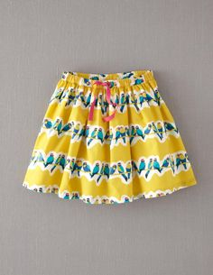Retro Print Skirt / Isla, summer