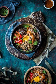 Bulgogi & Quinoa Bowl w/ Minty Siracha Dressing   XLBCR