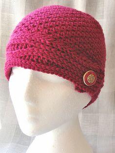 Ravelry: SN0WDR0PS's Wave Band Beanie Ravelry, Crochet Hats, Beanie, Waves, Fashion, Knitting Hats, Moda, Fashion Styles, Beanies