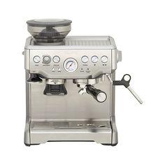 Breville ® Barista Espresso Machine | Crate and Barrel