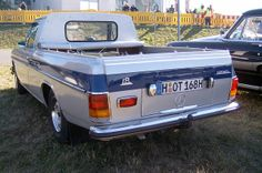 Mercedes Benz W115 220 D Pick Up by Henrik S., via Flickr