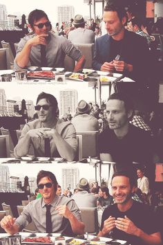 Norman Reedus & Andrew Lincoln - love these two!