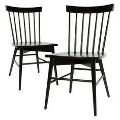Windsor Dining Chair - White (Set of 2) - Threshold™ : Target