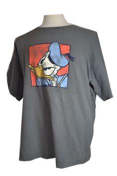 #Disney #DonaldDuck #Distressed look XL #Shirt #Cartoon #Art #Quack up for #auction #cheap