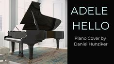 Adele - Hello - Piano Cover - Instrumental Der Tot, Piano Cover, Song Play, Instrumental, Adele, Singing, Songs, Itunes, Song Books