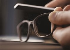 The Frame of a pair of ROLF eyewear glasses being crafted