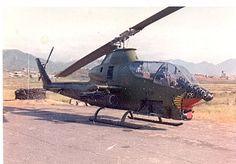 Bell AH-1 Cobra at Da Nang. #VietnamWarMemories