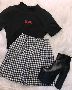Girls Fashion Clothes, Teen Fashion Outfits, Mode Outfits, Outfits For Teens, Girl Outfits, Preteen Fashion, Tumblr Outfits, Style Clothes, Girl Fashion