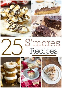 S'Mores Recipes, How