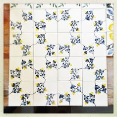 Panel de azulejos. Gema Cotallo.