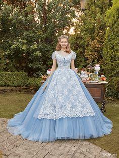 Wonderful story style dress Visit the post for more. Disney Wedding Dresses, Disney Princess Dresses, Disney Dresses, Fantasy Gowns, Fairytale Dress, Quinceanera Dresses, Beautiful Gowns, Pretty Dresses, Vintage Dresses