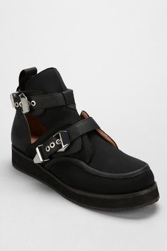 Jeffrey Campbell The Damned Coltman Leather Creeper shoes