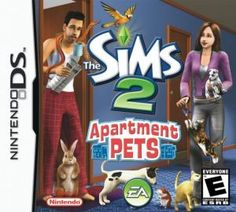 Black Friday 2014 The Sims Apartment Pets - Nintendo DS from Electronic Arts Cyber Monday. Black Friday specials on the season most-wanted Christmas gifts. Video Game Names, Video Games, Sims Castaway, Sims 2 Pets, The Sims 2, Sims 3, Pet Friendly Apartments, Wallpaper Maker, Pet Spa