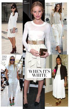 Celebrity Trends - Winter White Celebrity Trend - Harper's BAZAAR