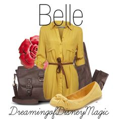 Belle, created by bryannnne on Polyvore