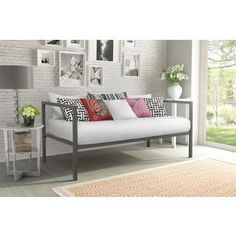DHP Modern Tribeca Metal Daybed   Overstock.com Shopping - The Best Deals on Beds