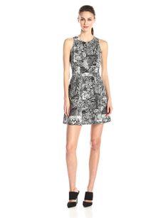 Cassandra Sleeveless A-Line Dress by BCBGMAXAZRIA