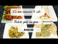 Ep 3 /Ce mananc in 4 zile de Rina/ Retete dieta Rina 90 / Dieta Rina/ What i eat to lose weight Rina Diet, Diet Recipes, Cooking Recipes, Lose Weight, Health Fitness, Eat, Ethnic Recipes, Life Hacks, Food
