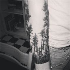 @Andrea Saxe Olsson| #tattoo #forest #zealtattoo | Webstagram - the best Instagram viewer