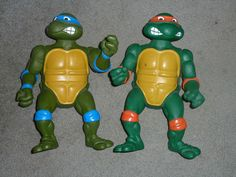 Vintage Teenage Mutant Ninja Turtles Leonardo Michelangelo