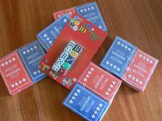 Allerlei rekenspelletjes met kaarten en dobbelstenen van de Action.