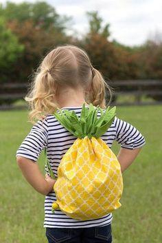 Шьём забавный детский рюкзачок
