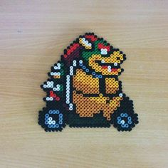 Bowser Mario Kart hama beads by tomaz82_