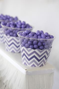 Purple Passion: Purple Chevron Party Supplies - Perfect for baby showers, birthday parties, bridal showers and everyday parties @BigDot