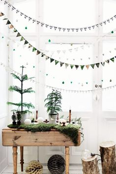 Layered Garlands - The Best Holiday Decor From Pinterest - Photos