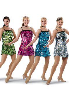 Sparkly Hologram Dress; Weissman Costumes
