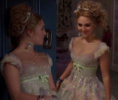 Carrie's dress at the dance on The Carrie Diaries.  Outfit details: http://wornontv.net/12906/