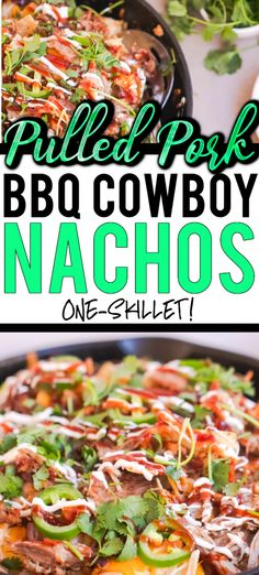 OMG These are SOOOO good for a family appetizer! Everyone loves nachos and pulled pork why not put them together? Bbq Nachos, Pulled Pork Nachos, Bbq Pulled Pork Recipe, Bbq Pork, Pork Sausage Recipes, Pork Shoulder Roast, Great Appetizers, Savoury Dishes
