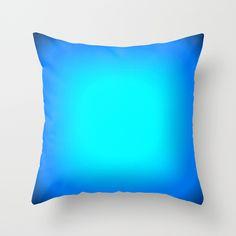 Turquoise. Throw Pillow