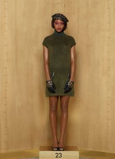 Louis Vuitton Pre-Fall 2012 - simple and classy dress - to do list