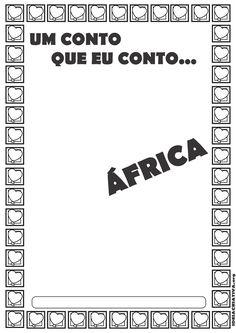 Histórias Africanas Projeto Um Conto que eu Conto Classroom, Activities, Logos, African History, African Design, African Art, African Paintings, Afro Art, Art Classroom