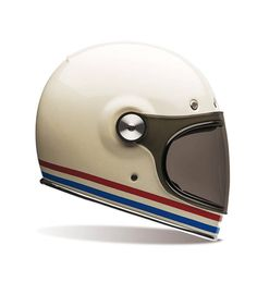 Casque BELL Bullitt Stripes Pearl White