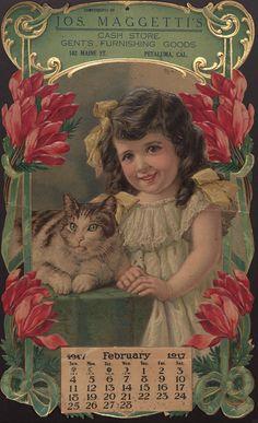 calendar 1917