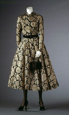 Cocktail dress, Dior, 1948