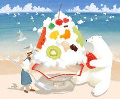 "yukue: ◆しろくま Shirokuma (""polar bear"" in Japanese) is a Japanese..."