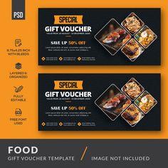 Food Vouchers, Gift Vouchers, Breakfast Restaurants, Sushi Restaurants, Food Graphic Design, Graphic Designers, Web Design, International Sushi Day, Gift Voucher Design