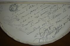 just paint it white: french script demi lune