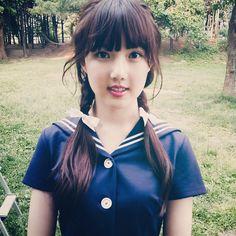 Mini Album <Flower Bud> Behind Photo Gfriend's vitamin Extended Play, Kpop Girl Groups, Kpop Girls, Cute School Uniforms, Cloud Dancer, Summer Rain, G Friend, Girl Bands, Cultura Pop