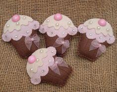 Lembrancinha - Imã Cupcake