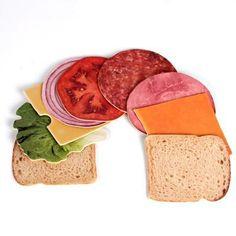 Deli Sandwich Coasters