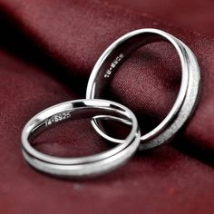 Men / Women's Minimalist Silver Weddings Rings $ 20.16 & FREE Shipping #jewelrynothers #jewelryaddict Silver Weddings, Silver Wedding Rings, Wedding Jewelry, Chakra Bracelet, Pearl Chain, Size 10 Rings, Minimalist Jewelry, Body Jewelry, Earring Set